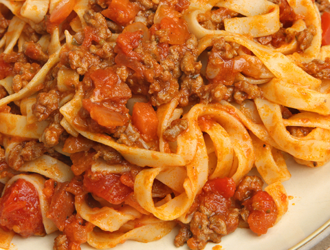 http://www.dreamstime.com/royalty-free-stock-images-tagliatelle-pasta-bolognese-sauce-image33622649